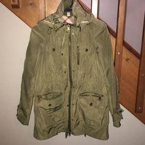 burberry utility raincoat